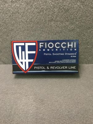 FIOCCHI .45ACP 45A BOX 1911ACADEMY FOR SALE
