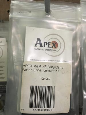 APEX M&P 45 DUTY CARRY ENHANCE KIT