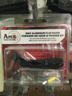 APEX M&P FLAT-FACED SEAR & TRIGGER KIT