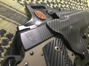 Custom kydex 1911 holster 2