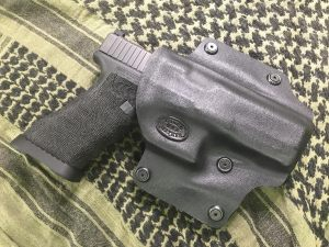 Custom kydex Glock 17 holster