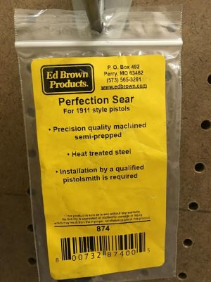 ED BROWN PERFECTION SEAR 1911 ACADEMY FOR SALE