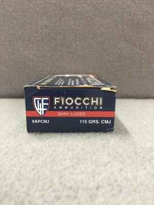 FIOCCHI 9MM 9APCMJ 1911 ACADEMY FOR SALE 2
