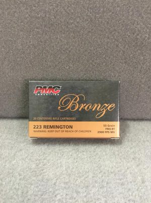 PMC BRONZE 223REM 223A 1911 ACADEMY FOR SALE
