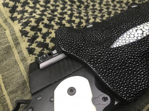 Custom Stingray holster 2