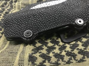 Custom Stingray holster 4