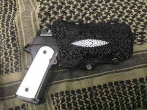 Custom Stingray holster