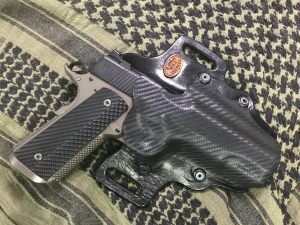 Custom kydex 1911 holster