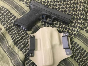 Custom kydex only glock 17 holster 2