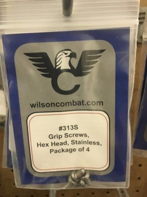 WILSON COMBAT HEX HEAD GRIP SCREWS SS 1911 ACADEMY FOR SALE